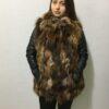 Matilda Vest Fox Fur